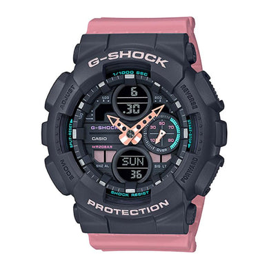 Casio G-Shock S Series GMA-S140 Lineup Pink Resin Band Watch GMAS140-4A GMA-S140-4A