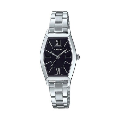 Casio Ladies' Analog Stainless Steel Band Watch LTPE167D-1A LTP-E167D-1A