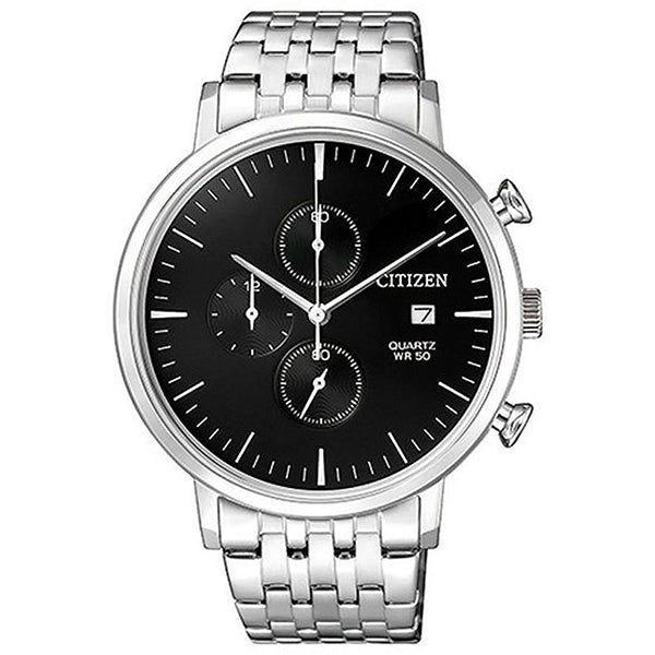 Citizen Chronograph Stainless Steel Band Watch AN3610-55E