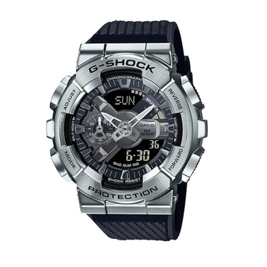 Casio G-Shock GM-110 Lineup Black Resin Band Watch GM110-1A GM-110-1A
