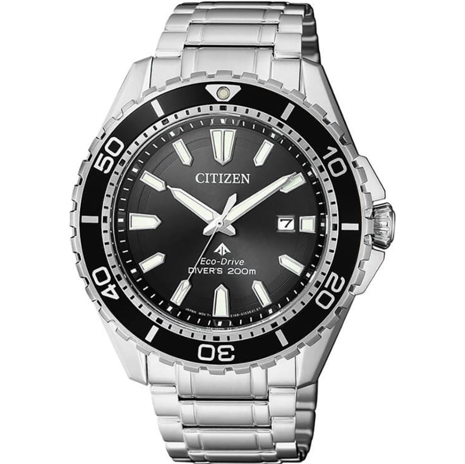 Citizen Men's Eco-Drive Stainless Steel Strap Watch BN0190-82E