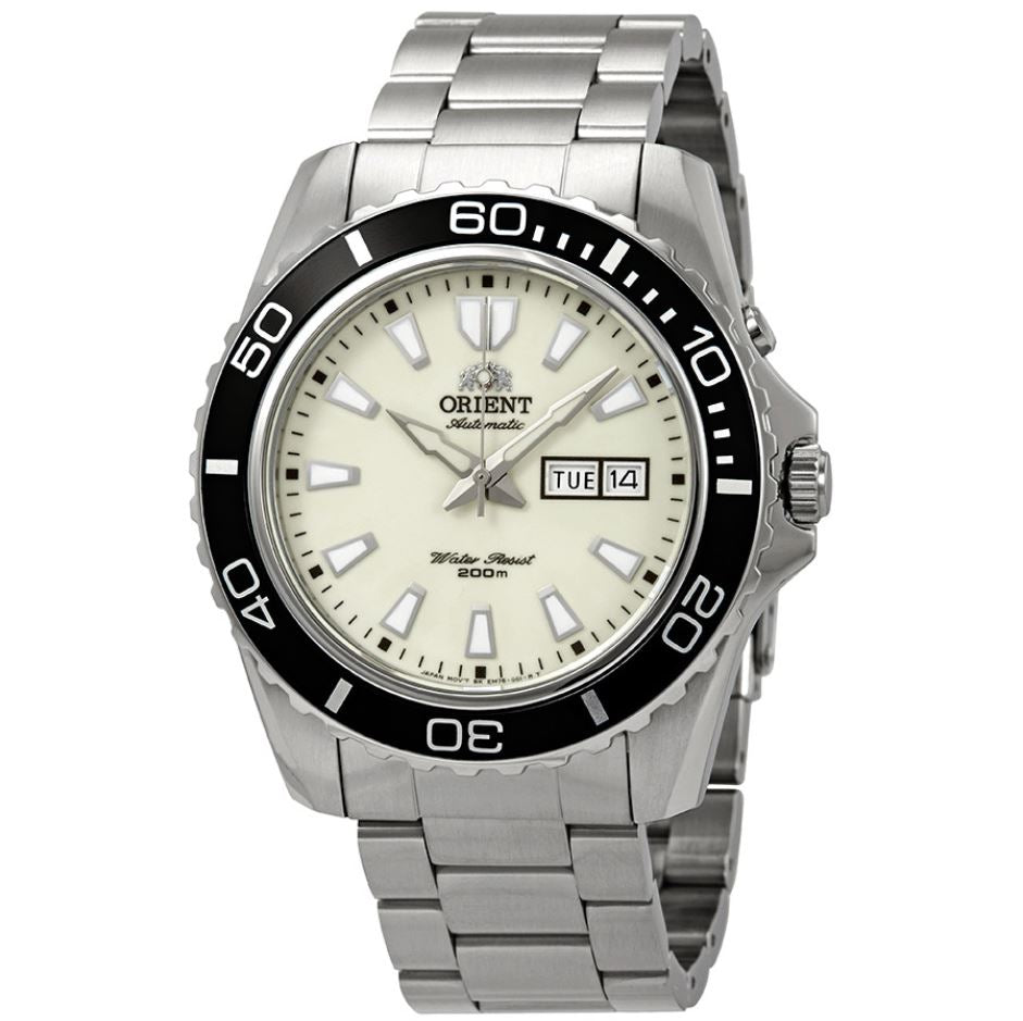 Orient Men's Mako XL Automatic Stainless Steel Strap Watch FEM75005R9  | Watchspree