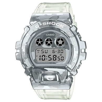 Casio G-Shock GM-6900 Lineup Special Colour Model Transparent Camouflage Band Watch GM6900SCM-1D GM-6900SCM-1D GM-6900SCM-1