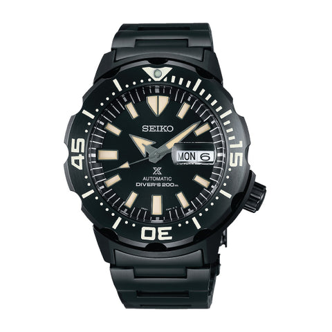 Seiko Prospex Diver's Automatic Black Stainless Steel Band Watch SRPD29K1 | Watchspree