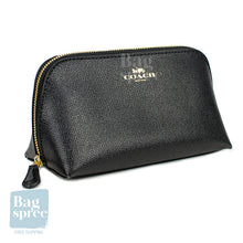 Load image into Gallery viewer, Coach Cosmetic Case Black F57857 IMBLK
