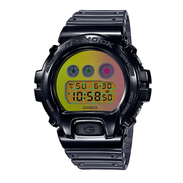 Casio G-Shock 25th Anniversary Standard Digital Semi Transparent Resin Band Watch DW6900SP-1D DW-6900SP-1D DW-6900SP-1