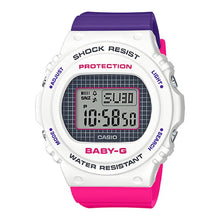 Load image into Gallery viewer, Casio Baby-G BGD-570 Lineup Special Color Models Purple and Pink Resin Band Watch BGD570THB-7D BGD-570THB-7D BGD-570THB-7