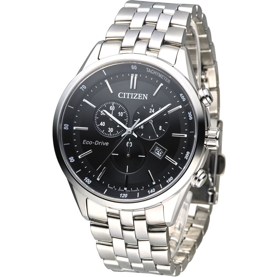 Citizen Men's Eco-Drive Stainless Steel Watch AT2140-55E