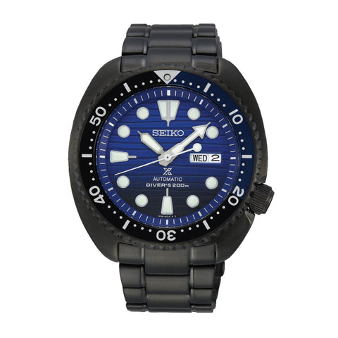 Seiko Prospex Air Diver's Sea Series Automatic Special Edition Black Stainless Steel Band Watch SRPD11K1
