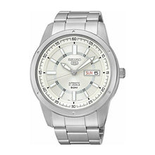 Load image into Gallery viewer, Seiko 5 Sports (Japan Made) Automatic Silver Stainless Steel Band Watch SNKN09J1