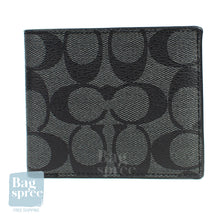 Load image into Gallery viewer, Coach ID Billfold Wallet Black F66551 QBMI5