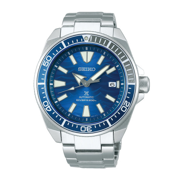 Seiko Prospex Diver Scuba Special Edition Silver Stainless Steel Band Watch SRPD23K1