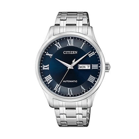 Citizen Automatic Stainless Steel Band Watch NH8360-80L