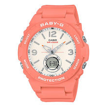 Load image into Gallery viewer, Casio Baby-G Standard Analog-Digital Orange Resin Band Watch BGA260-4A BGA-260-4A
