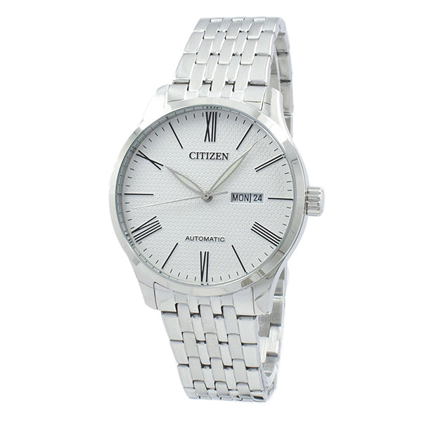 Citizen Mechanical Automatic Stainless Steel Band Watch NH8350-59A