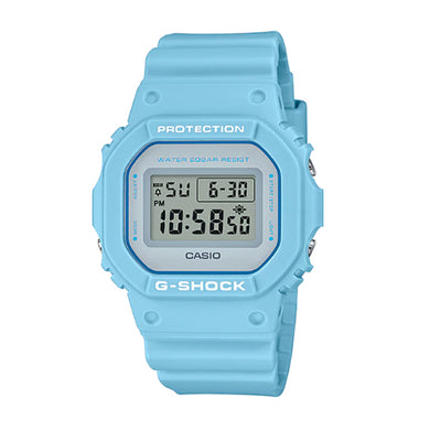 Casio G-Shock DW-5600 Lineup Special Color Models Pale Blue Resin Band Watch DW5600SC-2D DW-5600SC-2