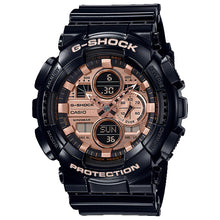 Load image into Gallery viewer, Casio G-Shock Special Color GA Series Black Resin Band Watch GA140GB-1A2 GA-140GB-1A2
