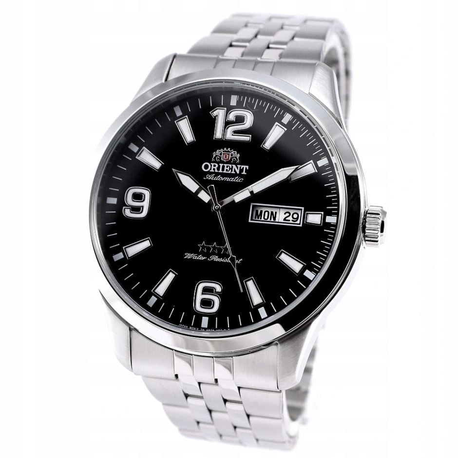 Orient Men's TriStar Automatic Stainless Steel Strap Watch RA-AB0007B19B  | Watchspree