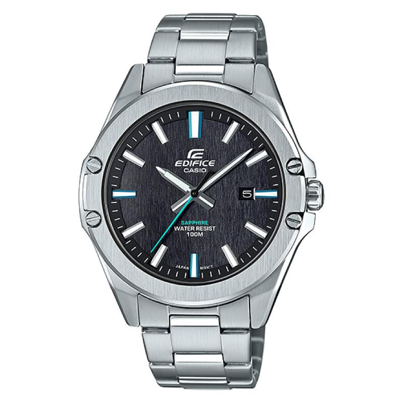 Casio Edifice Silver Stainless Steel Band Watch EFRS107D-1A EFR-S107D-1A
