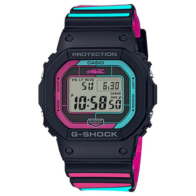 Casio G-Shock Gorillaz Collaboration Limited Model Black Resin Band Watch GWB5600GZ-1D GW-B5600GZ-1D GW-B5600GZ-1
