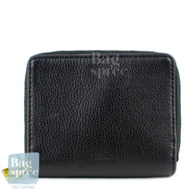 Load image into Gallery viewer, Fossil RFID Mini Multifunction Black Leather Wallet     Black SL7750001