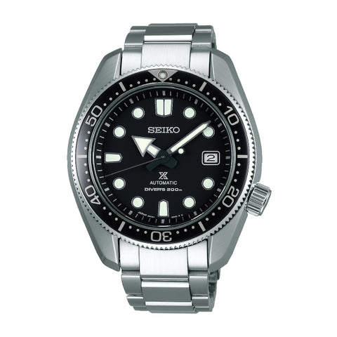 Seiko Prospex (Japan Made) Air Diver's Sea Series Automatic Silver Stainless Steel Band Watch SPB077J1