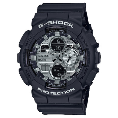 Casio G-Shock Special Color GA-140 Series Matte Black Resin Band Watch GA140GM-1A1 GA-140GM-1A1