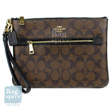 Load image into Gallery viewer, Coach Gallery Pouch Brown F79896 IMAA8
