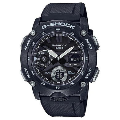 Casio G-Shock Carbon Core Guard Structure Black Resin Band Watch GA2000S-1A GA-2000S-1A | Watchspree