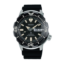 Load image into Gallery viewer, Seiko Prospex Diver Scuba Black Silicone Strap Watch SRPD27K1