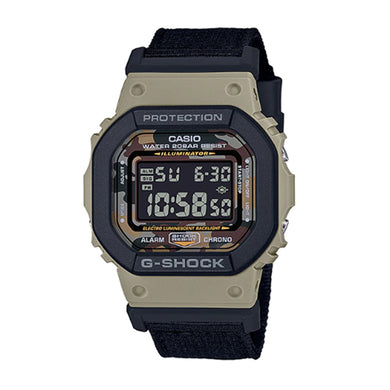Casio G-Shock DW5600 Special Colour Series Black Cloth Band Watch DW5610SUS-5D DW-5610SUS-5