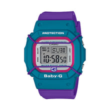 Load image into Gallery viewer, Casio Baby-G 25th Anniversary Limited Model Purple Resin Band Watch BGD525F-6D BGD-525F-6D BGD-525F-6