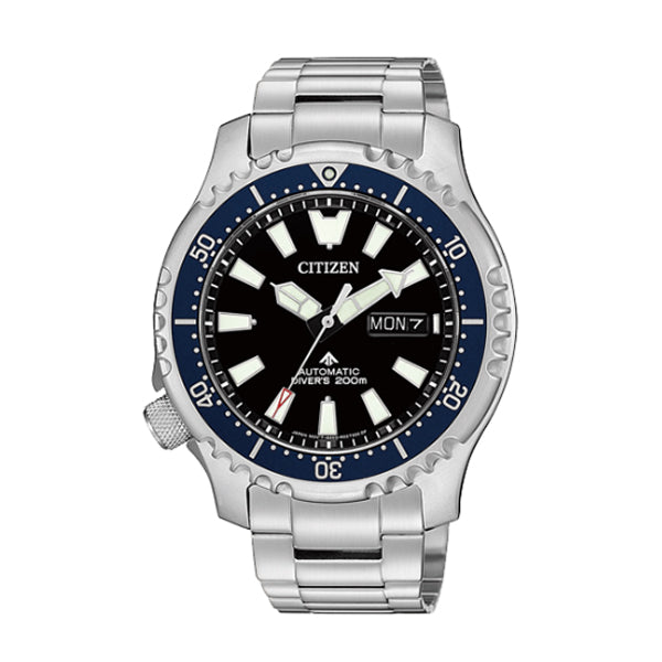 Citizen Limited Edition Promaster Automatic Diver Stainless Steel Band Watch NY0098-84E | Watchspree