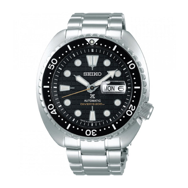 Seiko Prospex (Japan Made) Diver Scuba Silver Stainless Steel Band Watch SBDY049 SBDY049J
