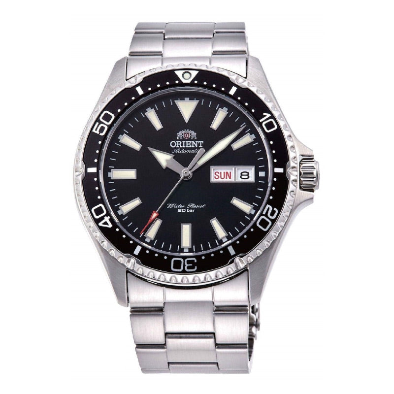 Orient Men's Mako III Automatic Stainless Steel Band Watch RA-AA0001B19B  | Watchspree