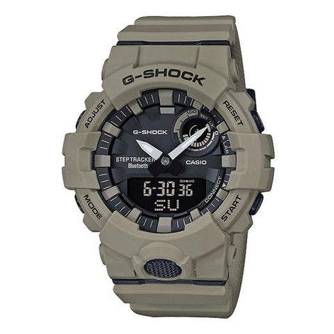 Casio G-Shock G-SQUAD Bluetooth® Utility Colors Collection Matte Olive Resin Band Watch GBA800UC-5A GBA-800UC-5A | Watchspree