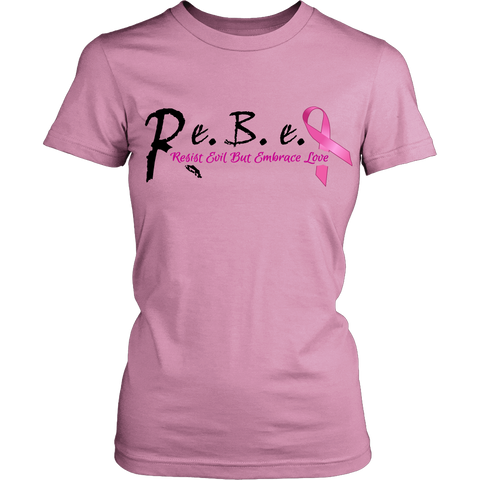 R.e.B.e.L Styles T-Shirt - Support Breast Cancer Edition **Special Edition**