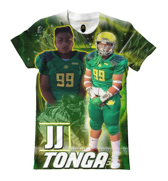 Custom Football T shirt 4