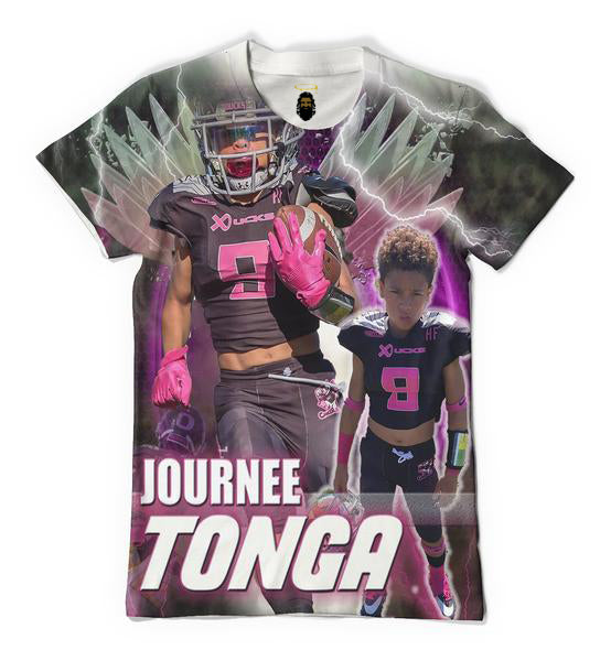 Custom Football T shirt 5