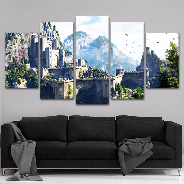The Witcher 5 Piece Canvas