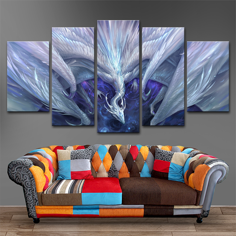 Dragon 5 Piece Canvas