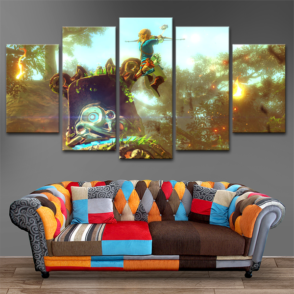 Zelda 5 Piece Canvas