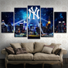 New York Yankees 5 Piece Canvas