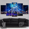 Kansas City Royals 5 Piece Canvas