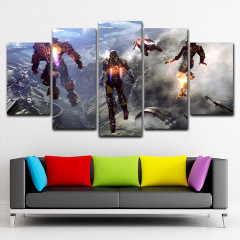 Anthem  5 Piece Canvas