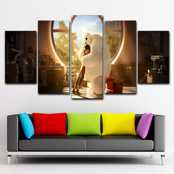Big Hero  5 Piece Canvas
