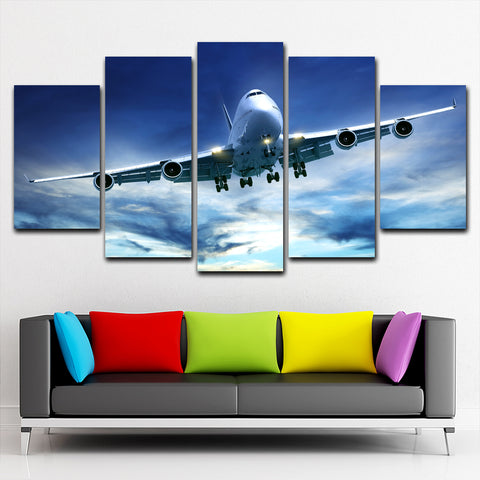 Boeing 5 Piece Canvas
