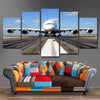 Airbus A380  5 Piece Canvas