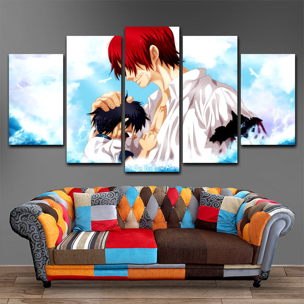 One Piece  5 Piece Canvas
