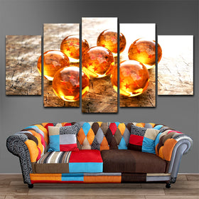 Dragon Ball Z  5 Piece Canvas